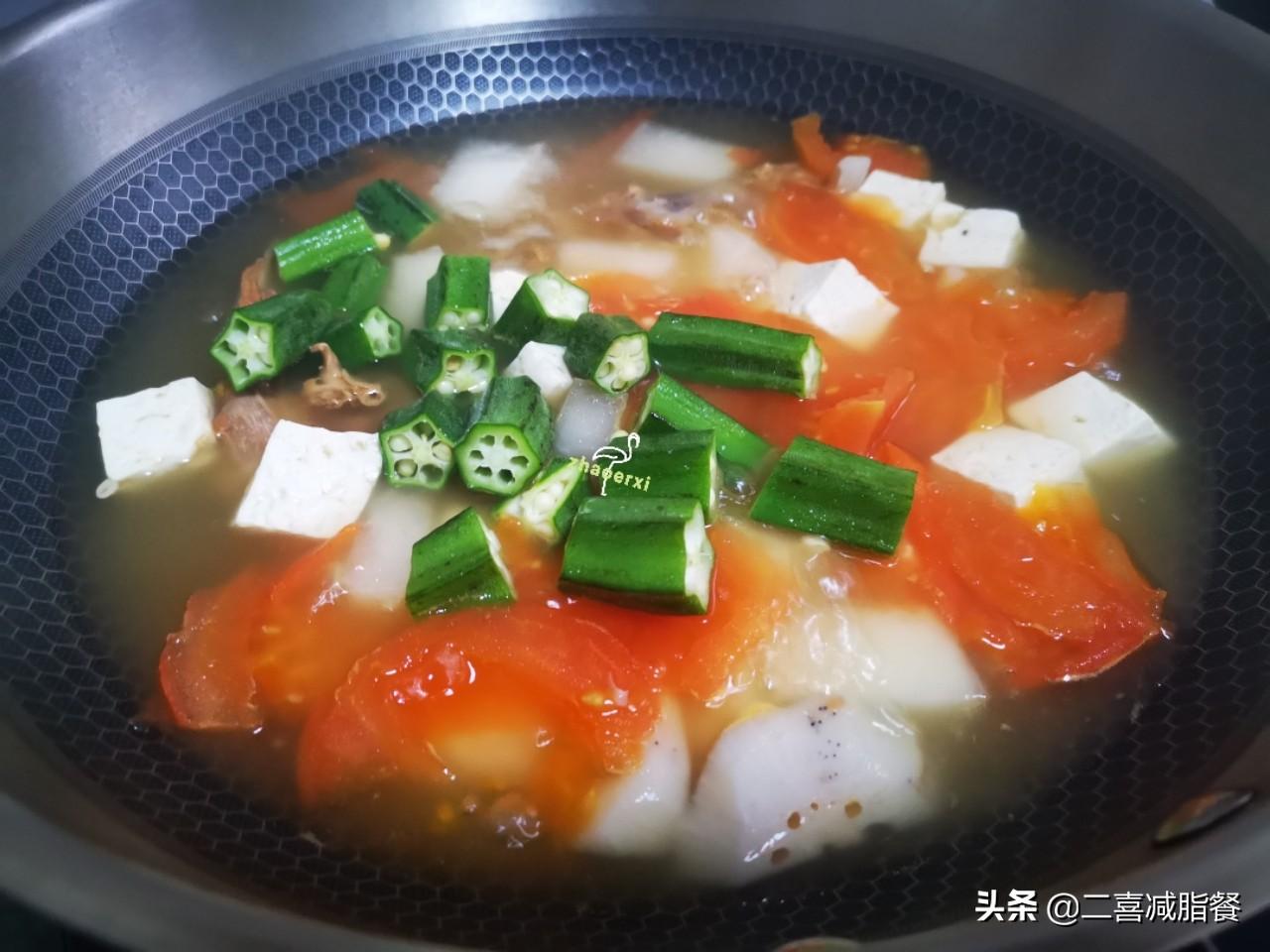 减肥容易便秘,这样的蔬菜汤吃一天就好,早餐晚餐都适用 早餐晚餐 第4张