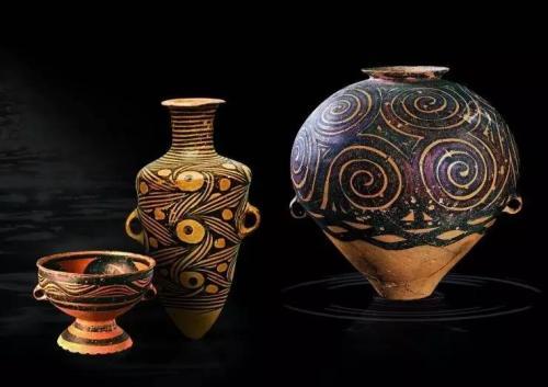 陶工与陶器,新石器时代陶器器型与族群