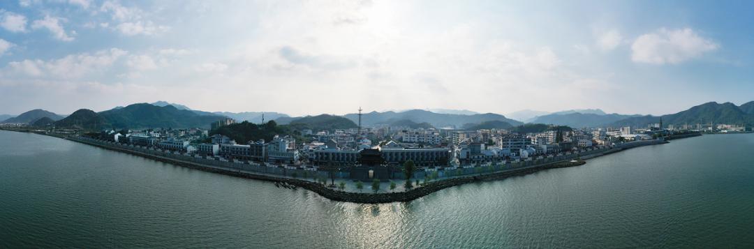 """「美丽城镇展厅」""""春江浩淼,美丽大洋""""大洋镇城市展厅"""