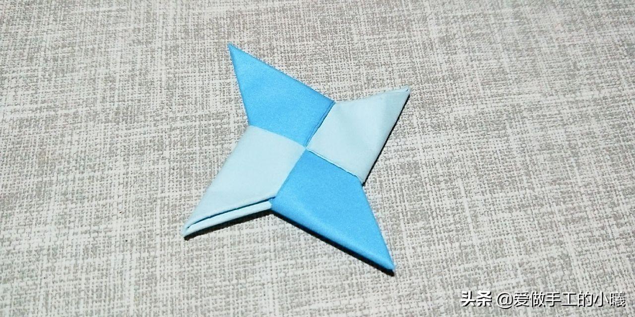 飞镖的折法简单又好玩