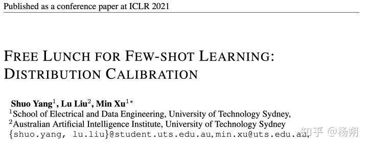 9行代码提高少样本学习泛化能力!ICLR2021Oral