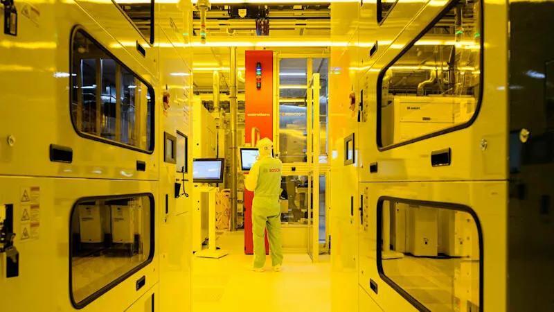 博世在德国开设大型汽车芯片工厂,投资10亿欧元解决汽车缺芯问题