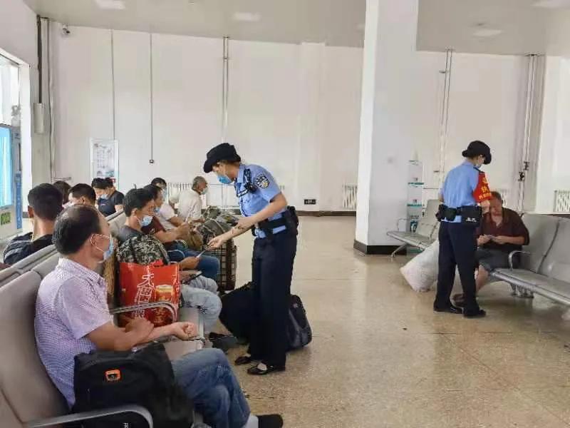 """榆林火车站派出所积极开展""""6.26""""国际禁毒日宣传活动"""