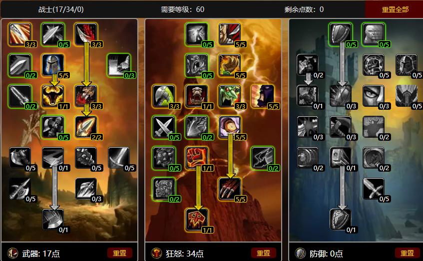 懷舊服戰士1-60級快速升級,戰士練級天賦如何選擇?