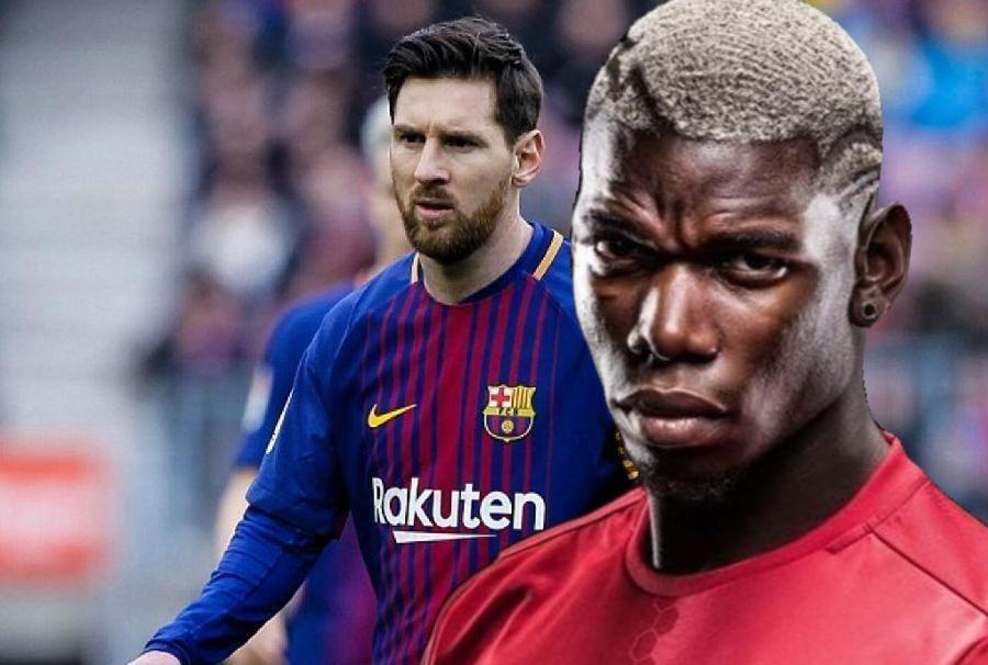 巴萨的博格巴?曼联的梅西?4-1和4-0让两个一亿巨星坐不住