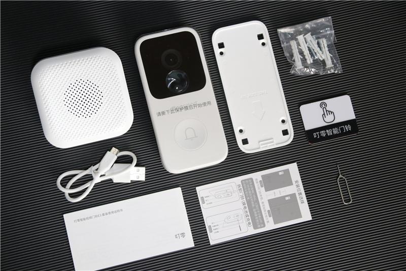 2K画质+长续航,叮零智能视频门铃E3套装体验