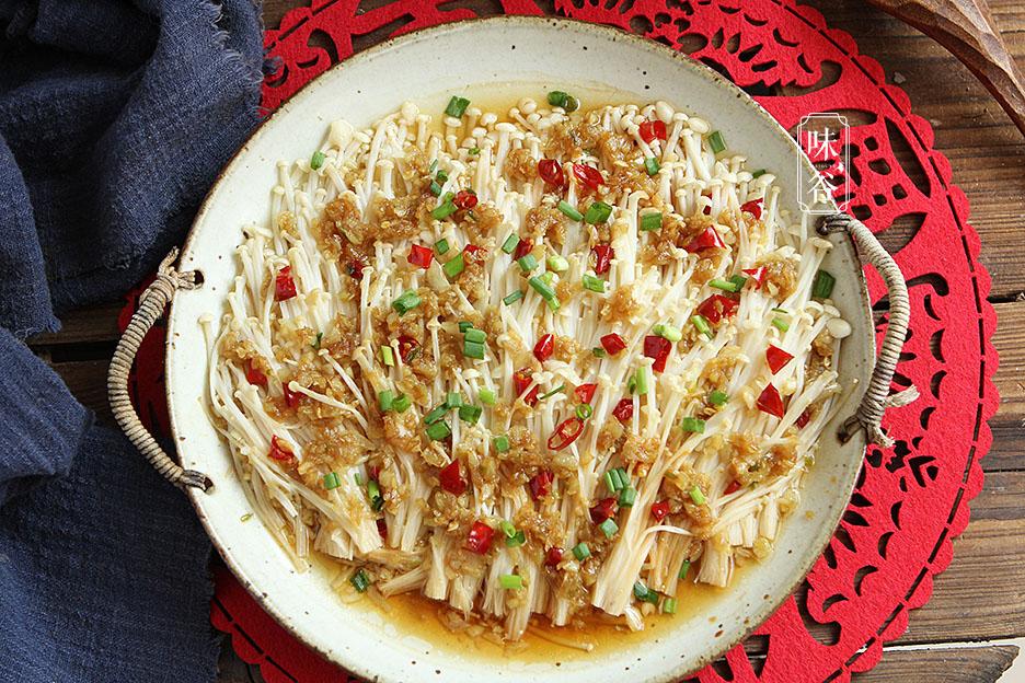 春节油腻多,这菜要多吃,蒸一蒸6分钟就能上桌,爽滑可口解油腻 美食做法 第2张