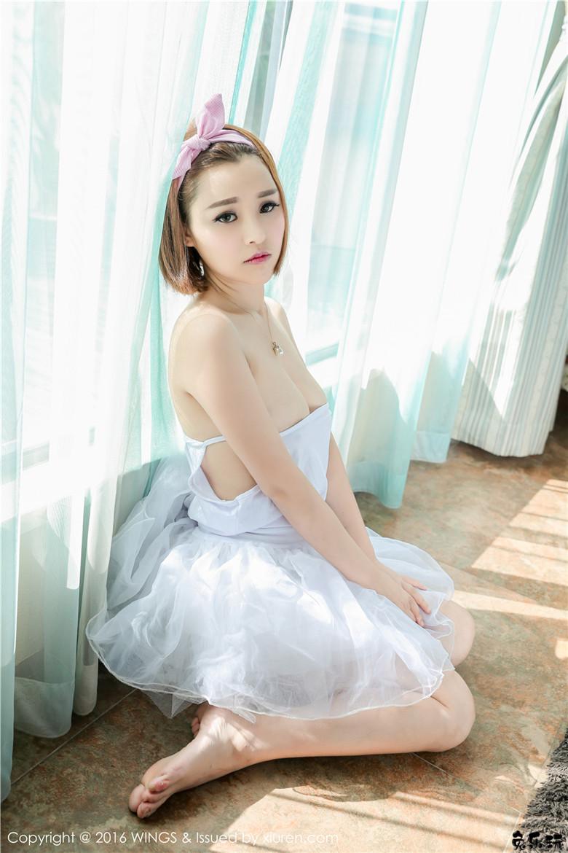 【WingS影私荟】2016.09.22 Vol.016 吉雅子美胸写真