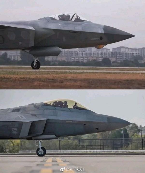 为何一张机头对比图片 外界就认为歼20电子系统优于F22