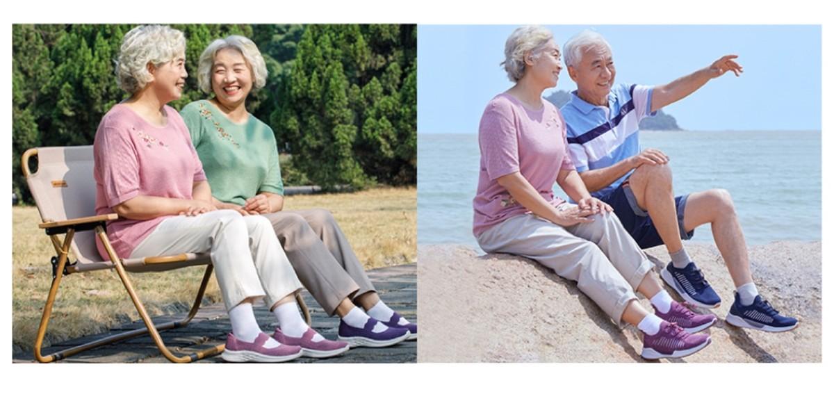 足力健老人鞋用心聆听<font color=red>建国</font>一代老人们的人生故事