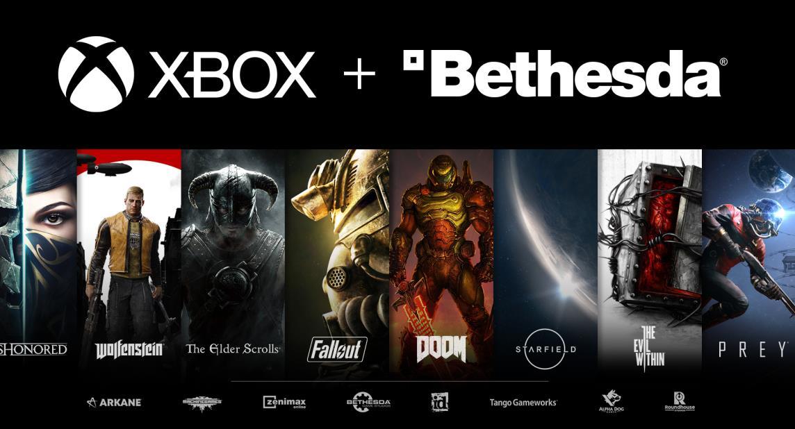微軟510億元收購B社,聯合多個游戲工作室,與索尼競爭到底