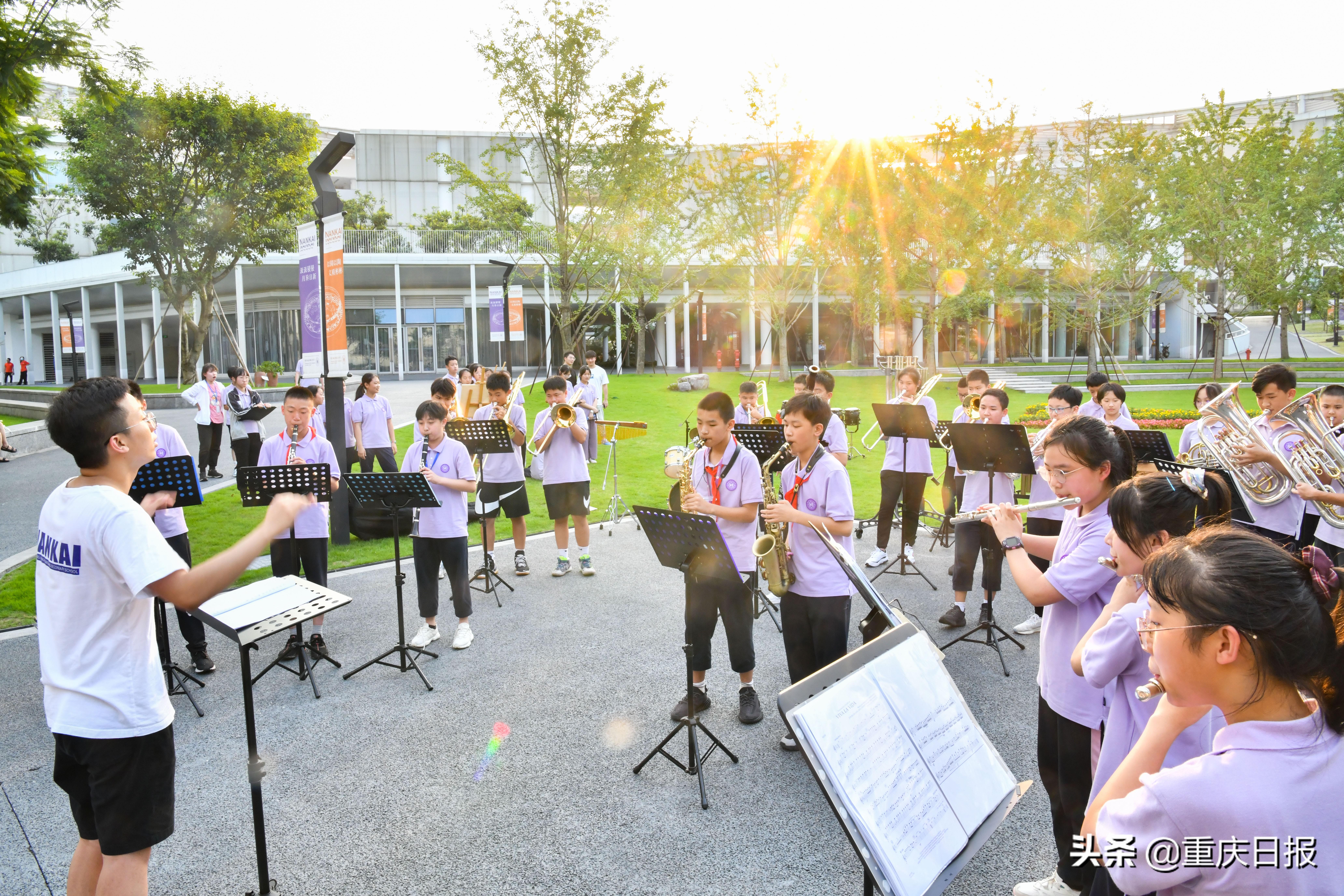 图片新闻 重庆南开两江中学:近40门社团课程丰富学生课外生活