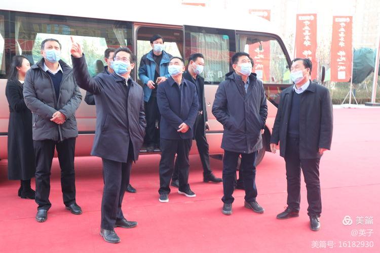 渭南市委办公室二级巡视员朱福俊来陕西秦晋国际大酒店视察调研