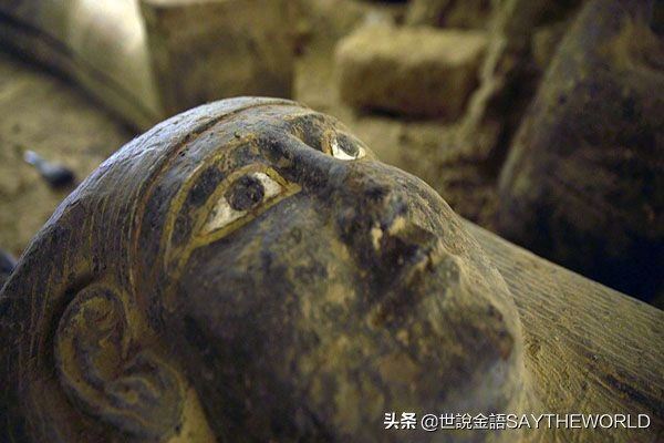 考古奇迹!埃及再出土2500年前密封棺材,几千年来从未被打开