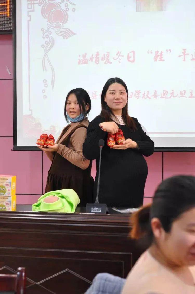 滑县妇幼孕妇学校开展迎春艺术胎教主题活动