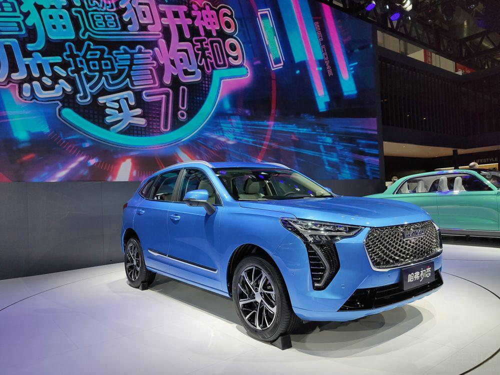 北京车展:合资SUV没关注度 这几款自主SUV旁全是人