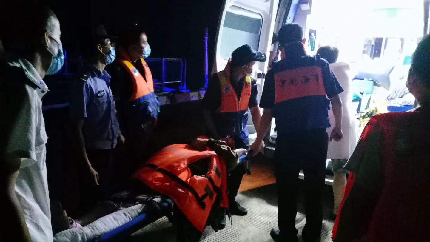 孕妇早产 温州海事3小时紧急救援