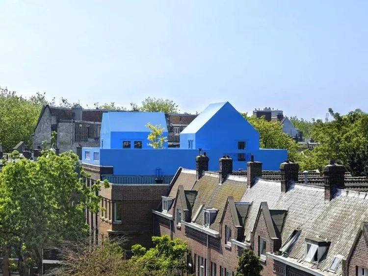 配色还可以这样?10个色彩极具冲击力的建筑景观作品