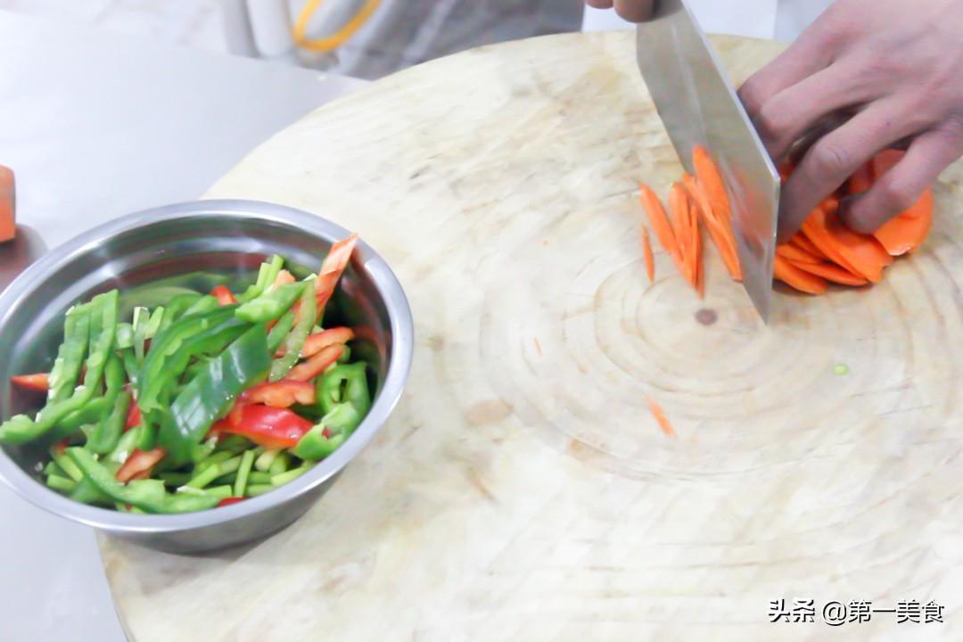 鱼香肉丝的家常做法,简单易学,色香味俱全,实用接地气 美食做法 第3张