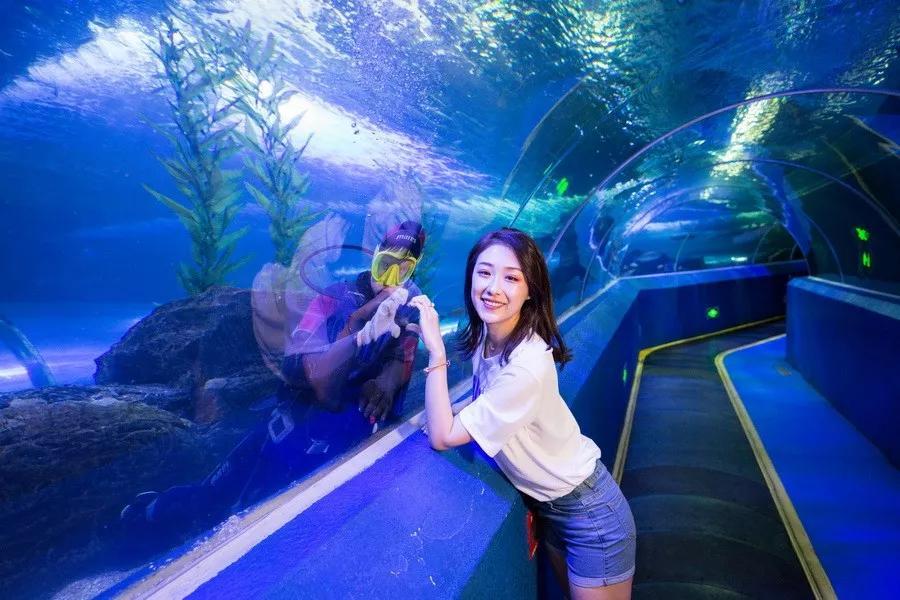 【寒假来了】海底遛娃快乐游,全年亲子199!动动手指还有惊喜福利!