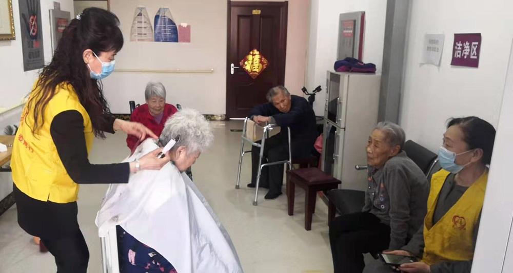 天津滨海:求是义工赴怡康养护园开展志愿服务