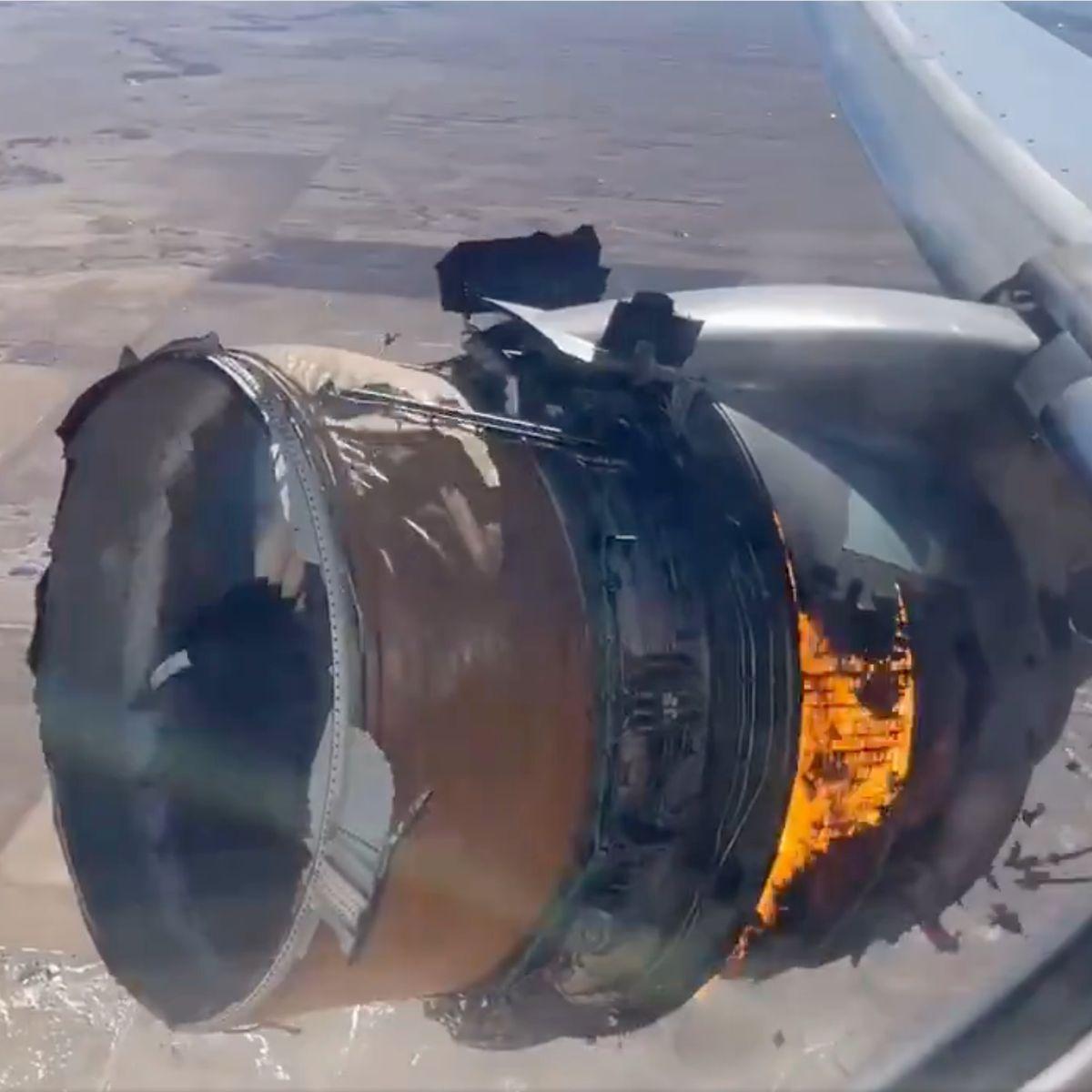 发动机爆炸部件散落一地,美国大型客机紧急迫降,高层下令彻查