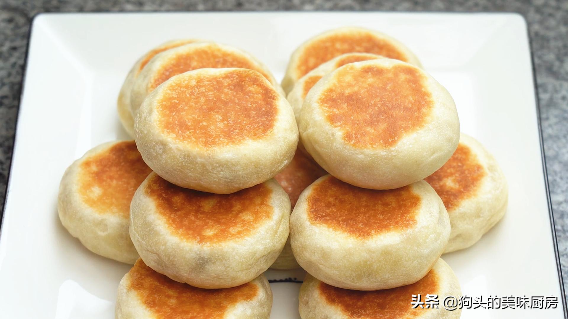 不做酥皮不用烤箱就能做的绿豆饼,清甜不油腻,比外面买的还好吃 美食做法 第1张