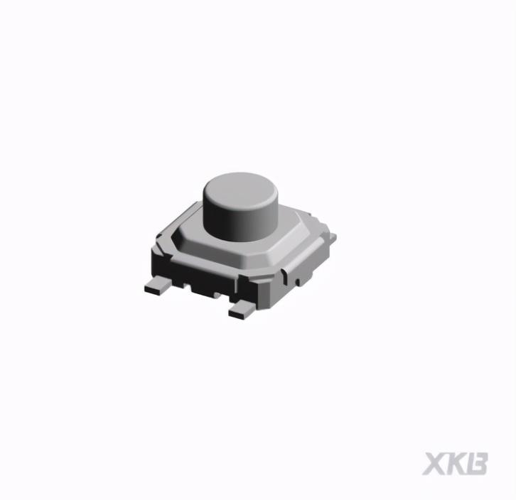 XKB Connecitity针对高精密电子领域推出耐高温小型轻触开关