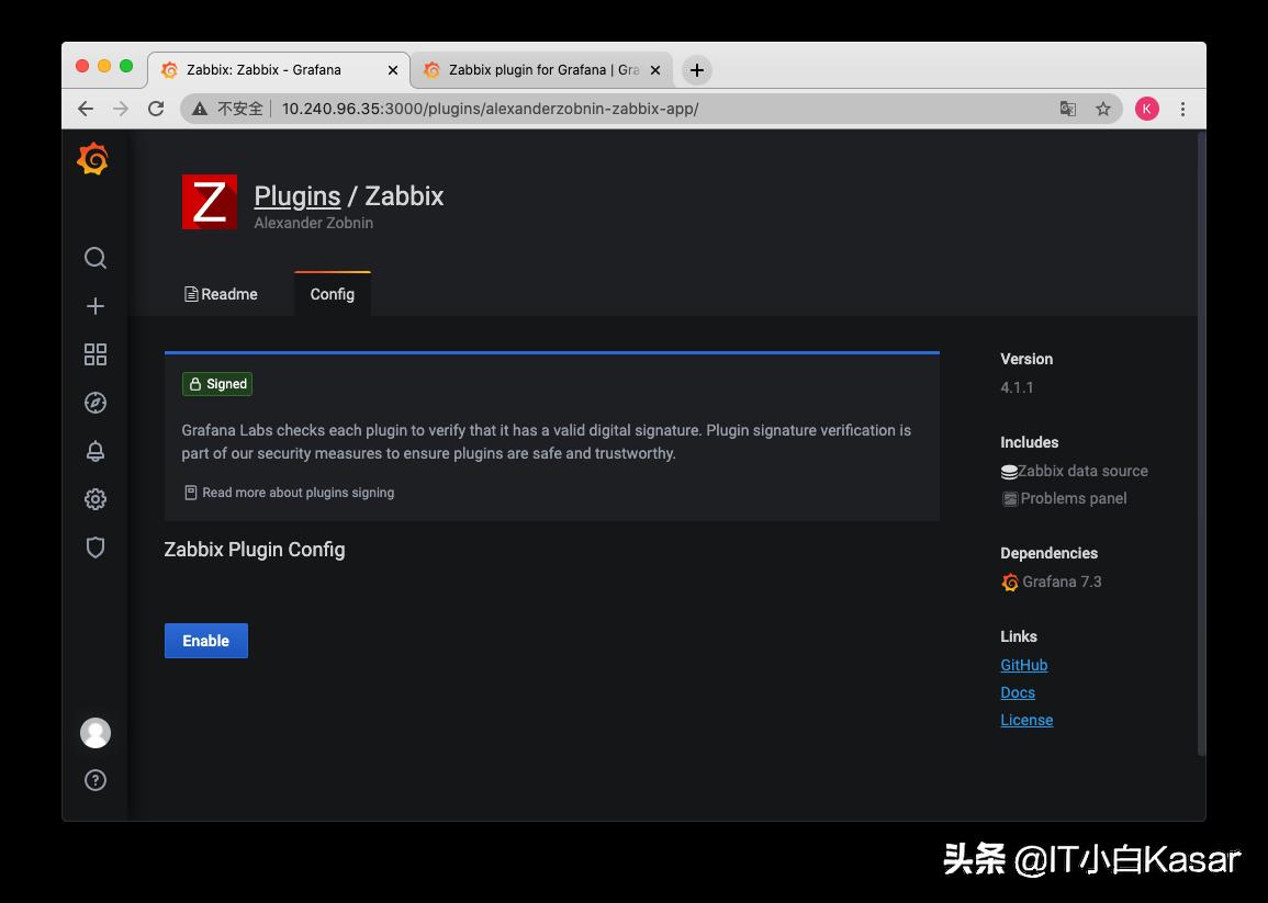 Zabbix5.2实战系列之Grafana第一张仪表盘