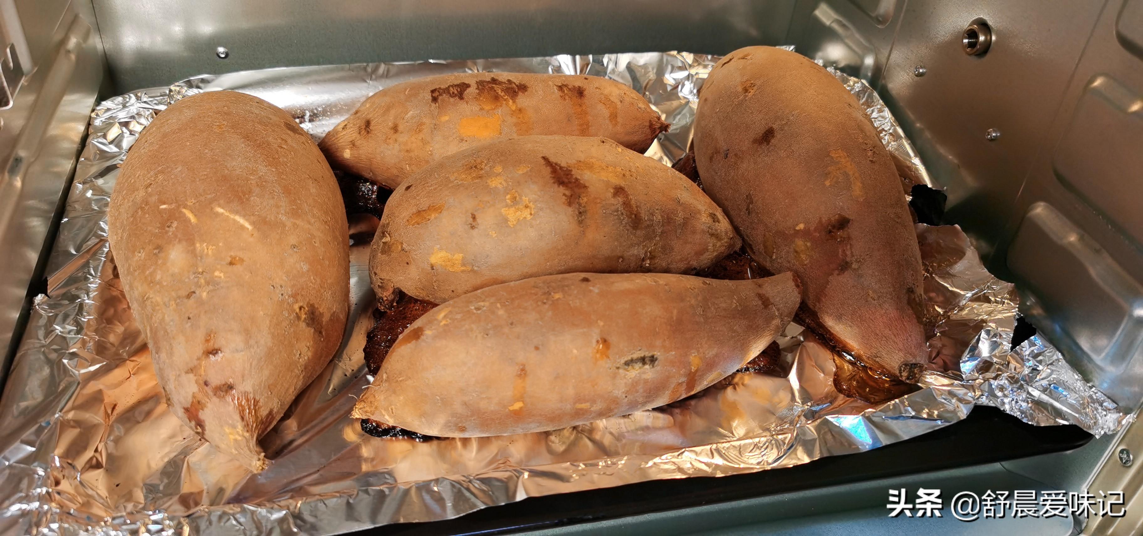 用烤箱烤红薯,不要直接放烤箱,照着这个步骤做,个个甜如蜜