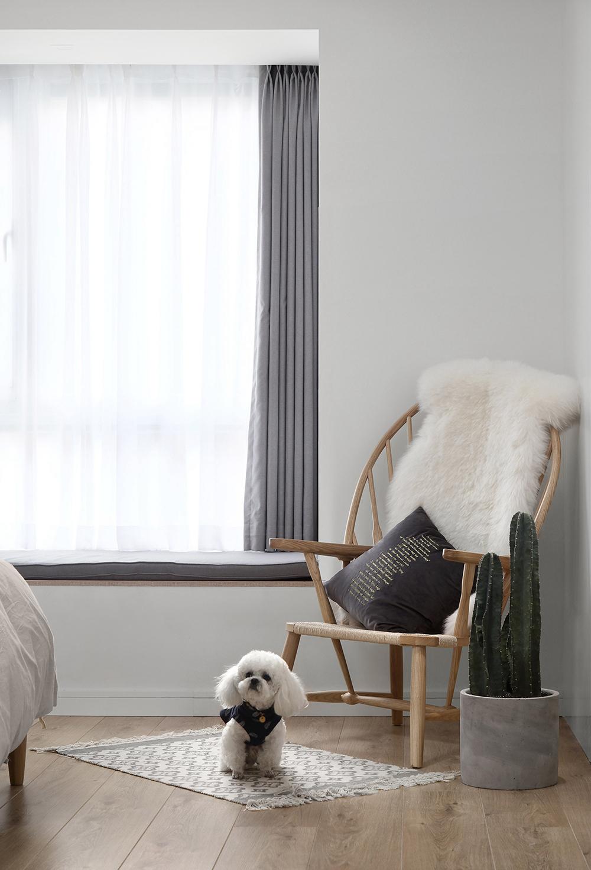 北歐風格裝修,大白墻+原木風,簡單清新舒適生活