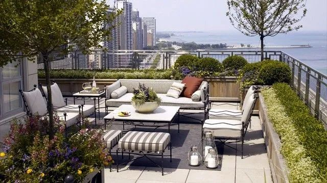 这就是屋顶花园的魅力——利用有限的空间,创造无限的可能