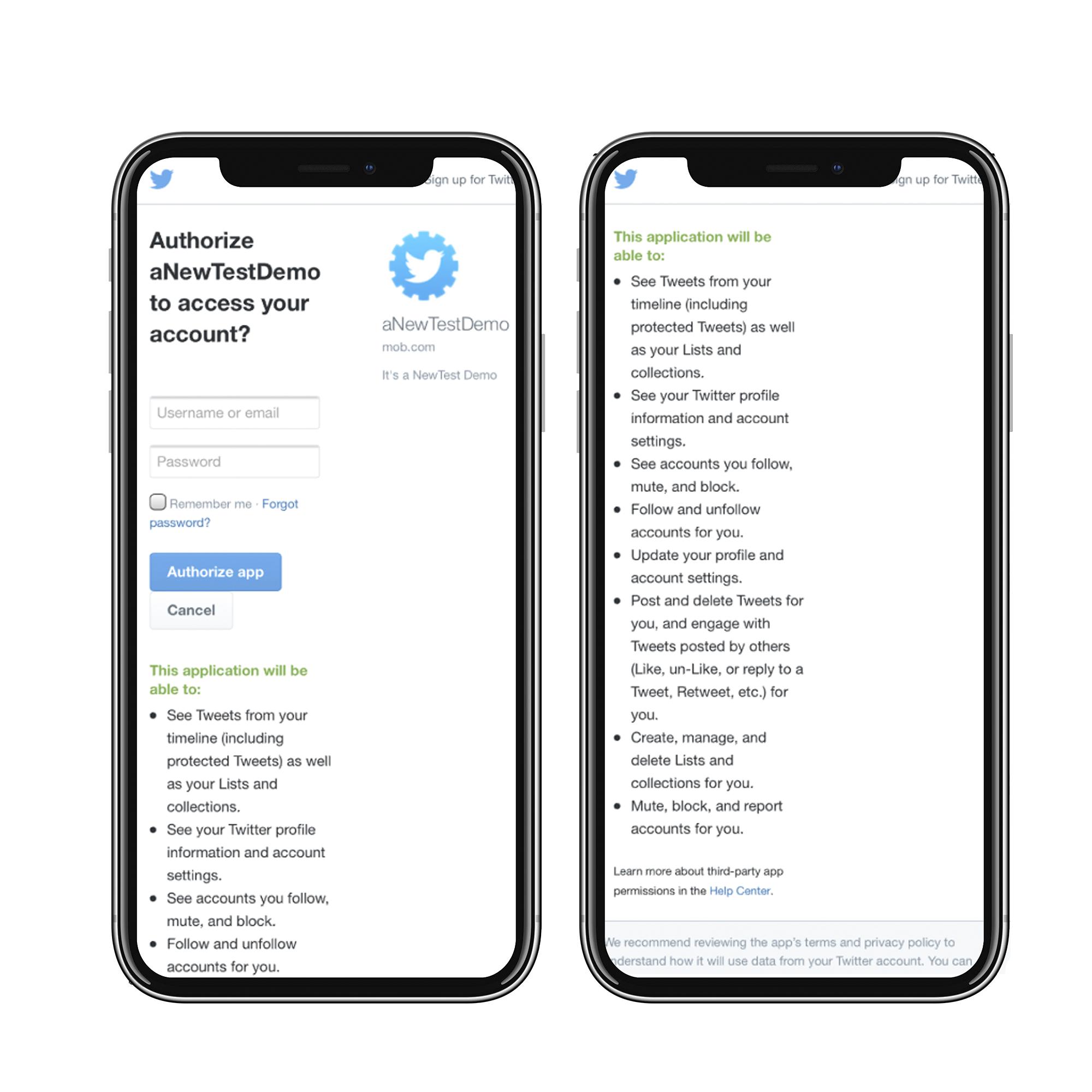 3分钟看懂,如何解决Twitter分享索权过多的问题