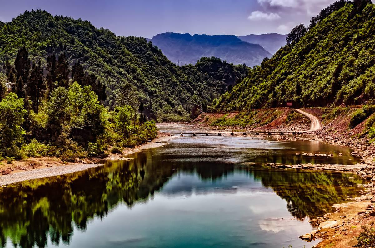 西安周边被遗忘的美景,景色不输九寨沟,门票不贵却少有人知