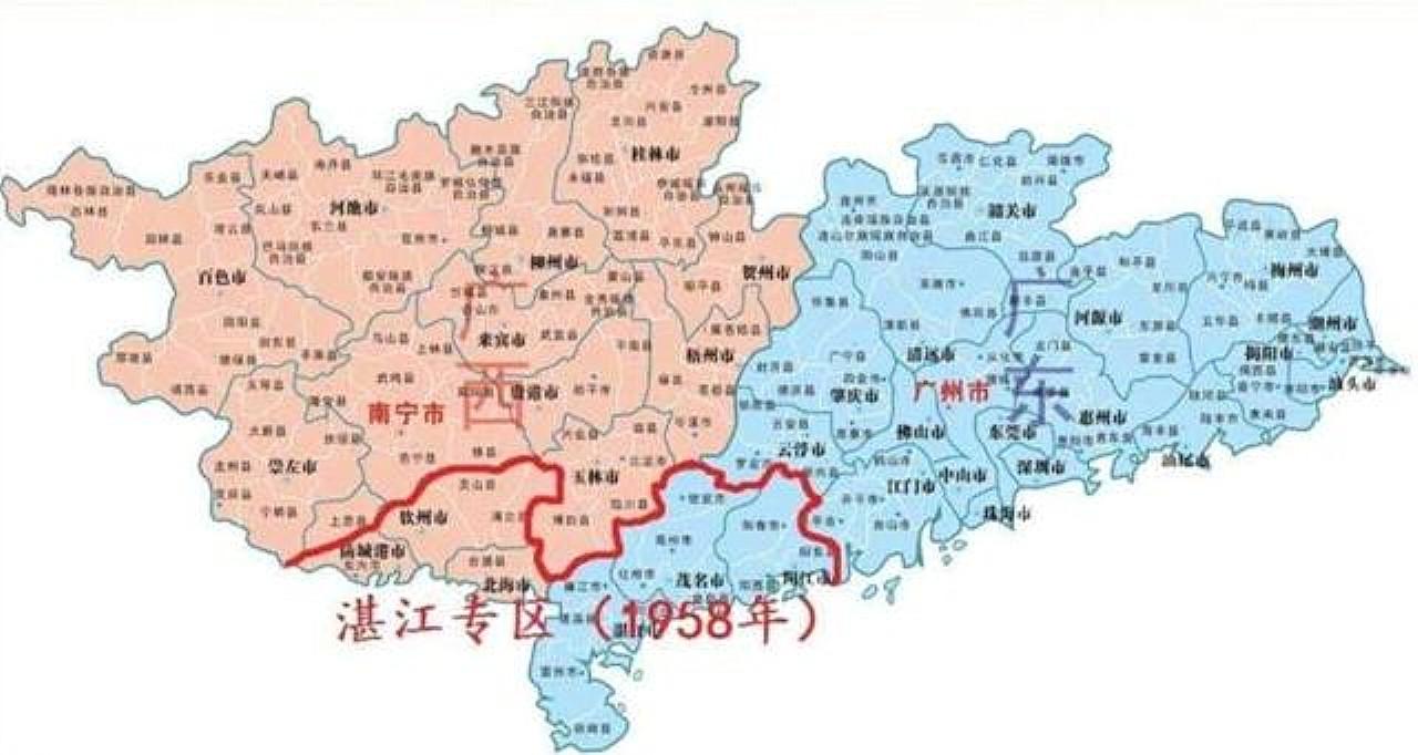 湛江虽然属于广东,为什么感觉跟广西更亲近些?