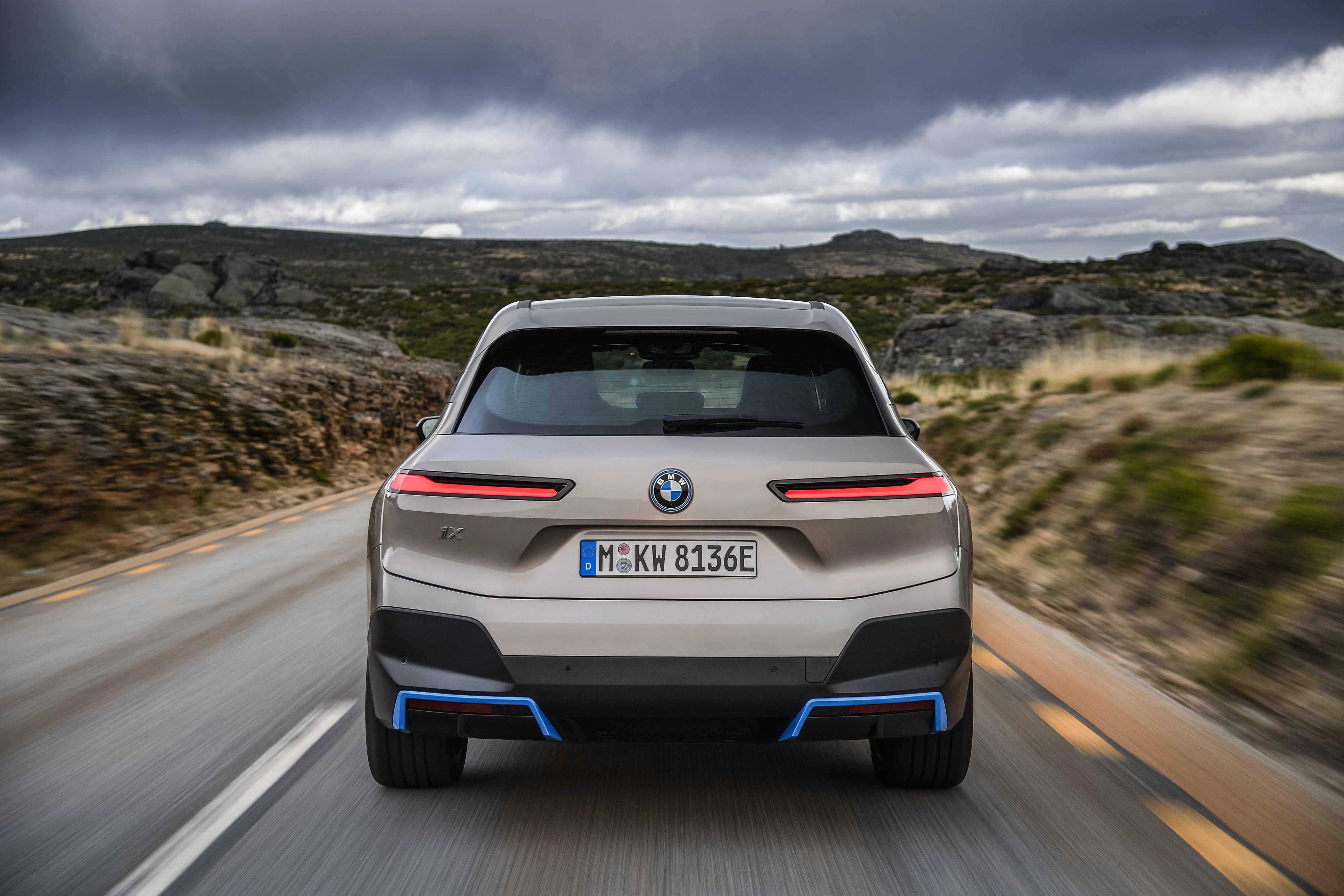 创新纯电动BMW iX迎来全球首秀