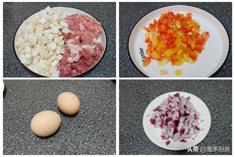 两个孩子的寒假午餐,零技能的卤肉饭,做法简单又好吃,省事了 美食做法 第3张
