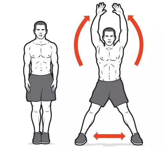 开合跳每天多少个减肥? 哪些开合跳运动方式是我们在家都可以做的