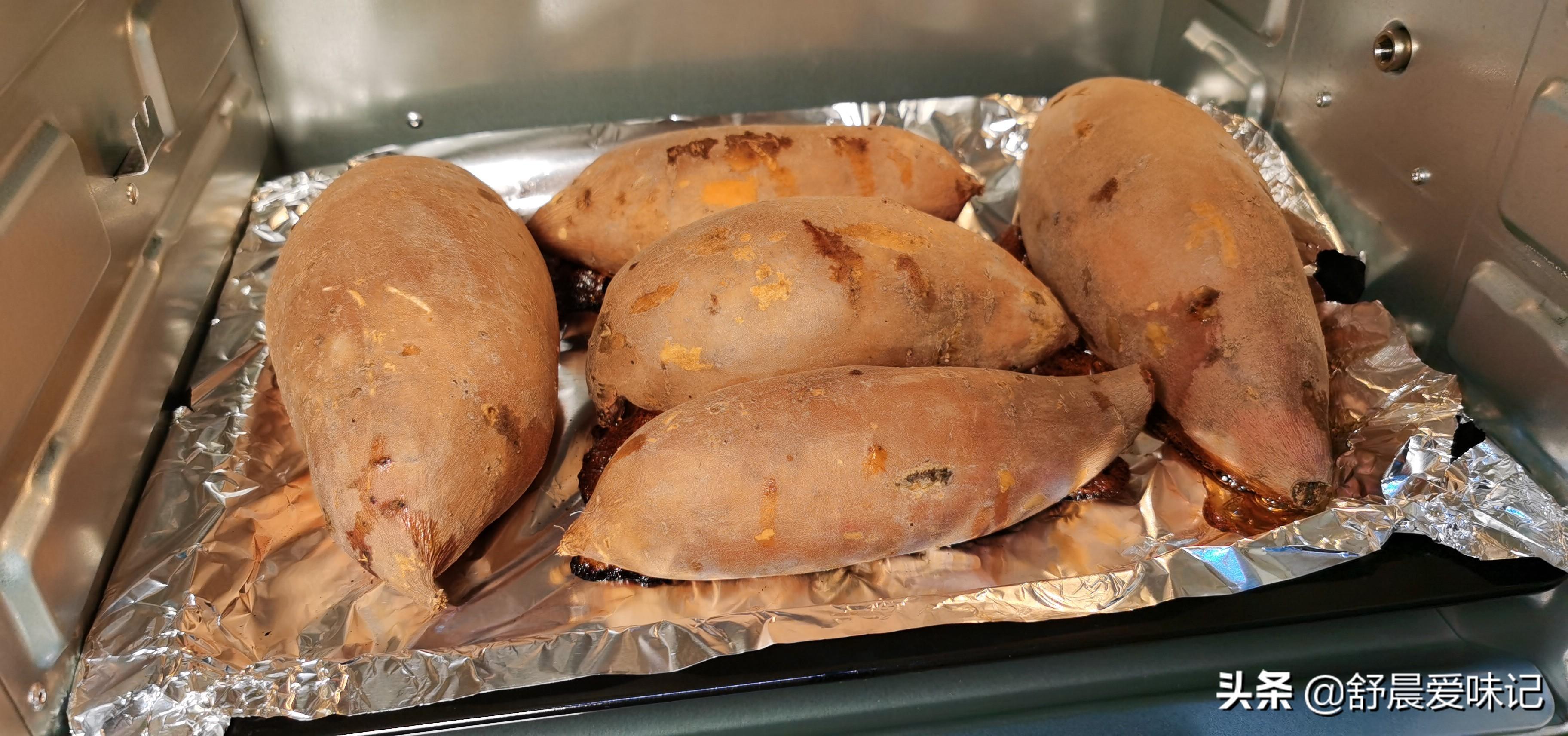 电烤箱烤红薯多长时间(家用电烤箱烤红薯怎么烤)