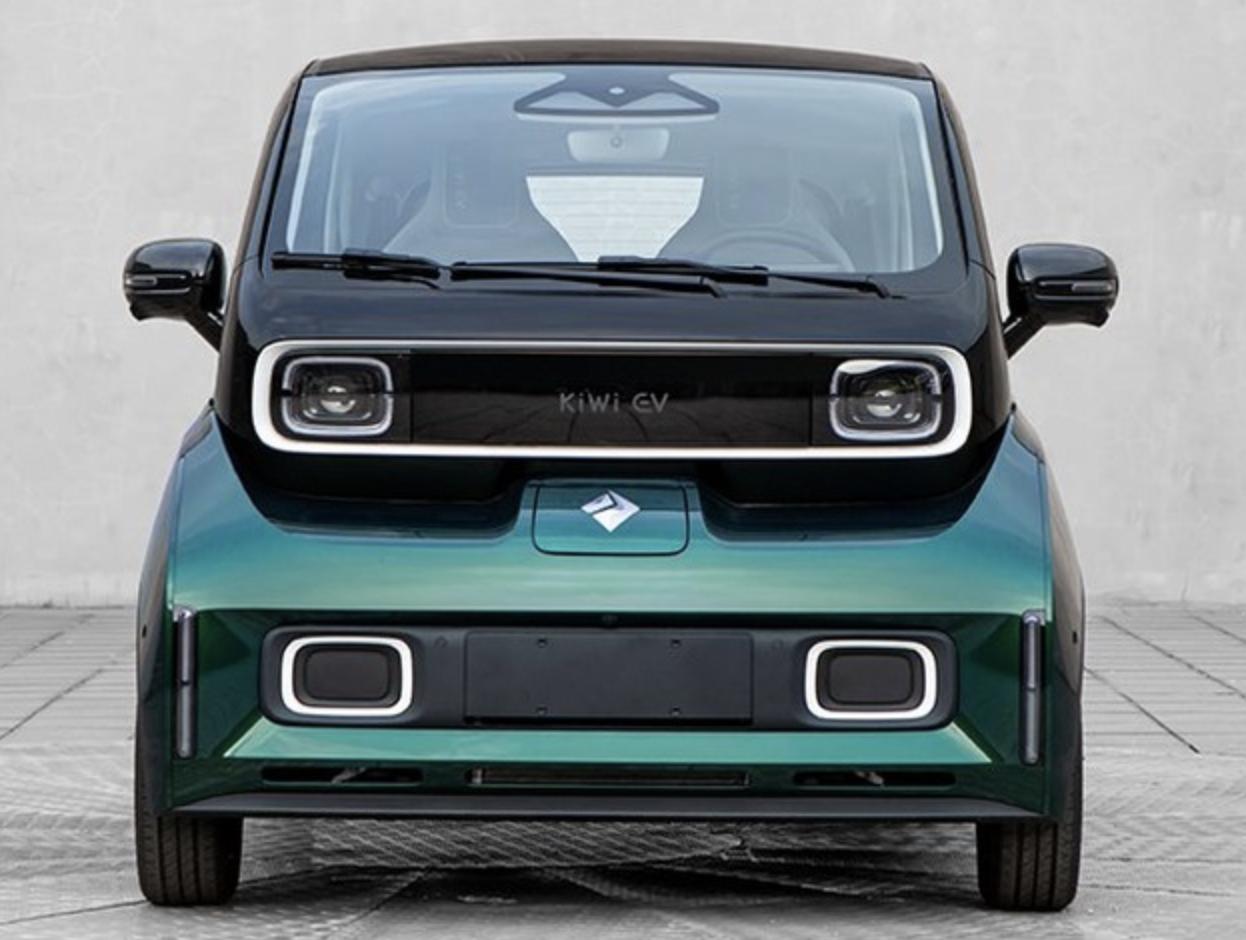 5种配色/换搭50kW电动机,新款宝骏KiWi EV申报图曝光
