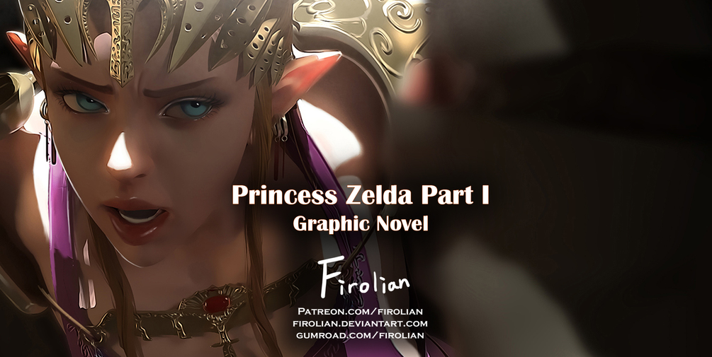 [Firolian] Princess Zelda(塞尔达公主) 1-3