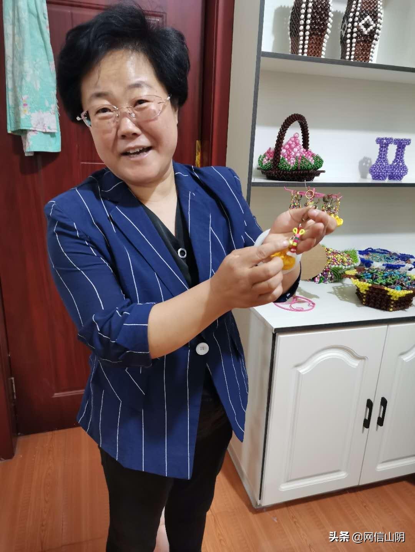 """卫红宇:让""""香包包""""成为残疾人的""""钱包包"""""""