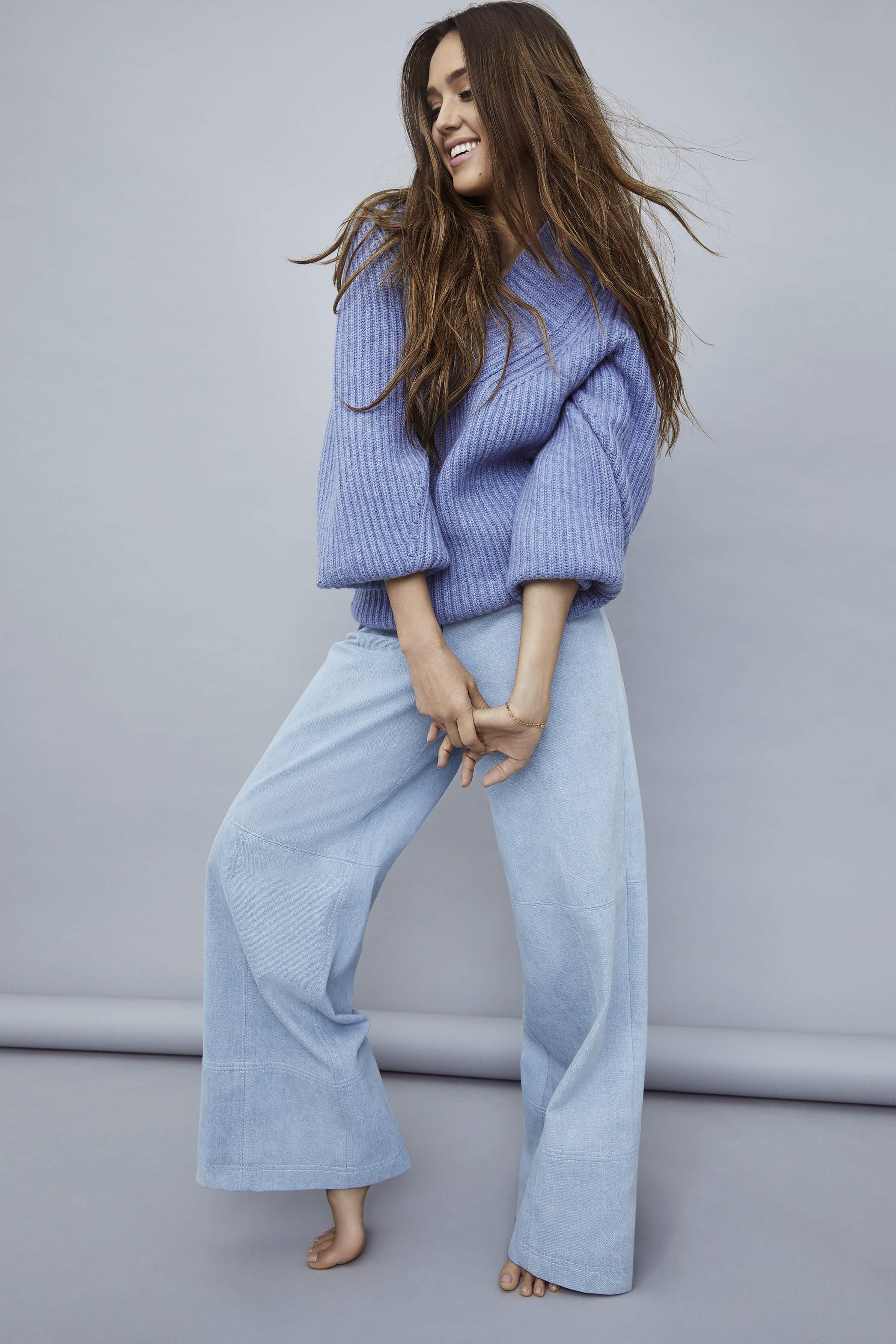 早上5点起床做瑜珈,时尚女星杰西卡·阿尔芭企业家的蜕变