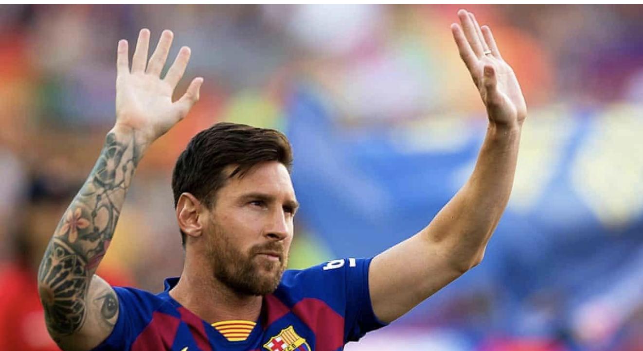 梅西将离开巴萨决定加盟曼城?球迷长跪不起祈祷球王别走  第1张