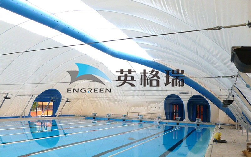 膜建筑是搭建室內游泳館的敲門磚