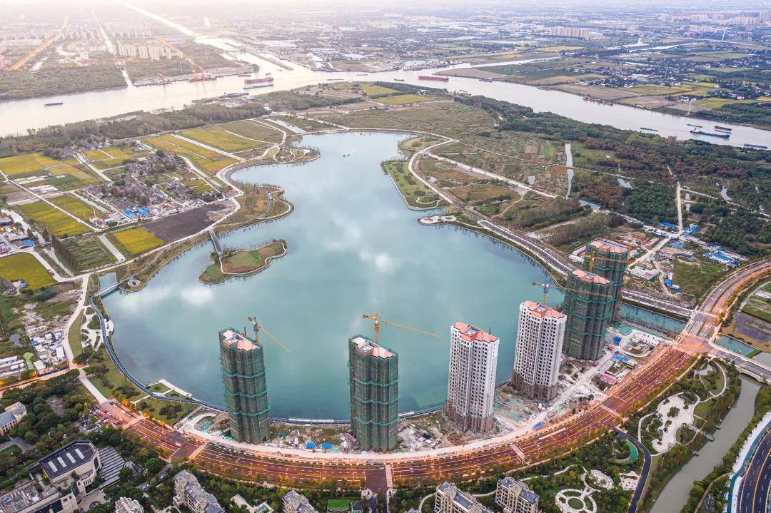 神来之笔!兰香湖的大场面风景惊艳