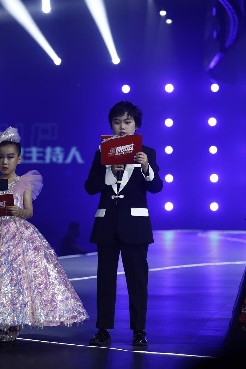 2021精英童模超级联赛特邀主持人——黄添逸