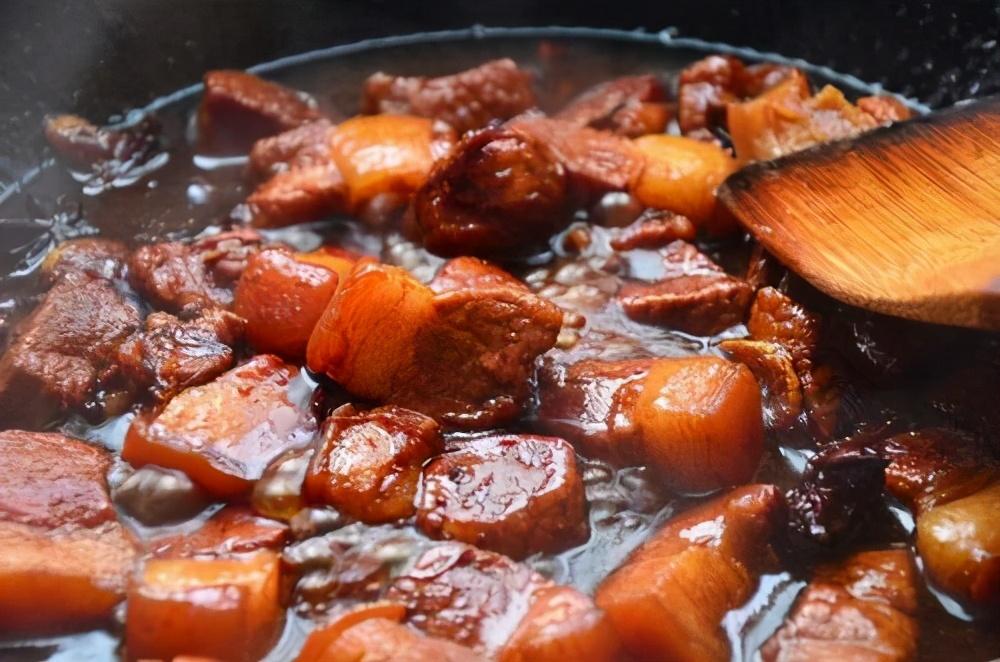 这才是红烧肉的正宗做法,操作步骤与用料全给你,吃货们都学会了 美食做法 第11张