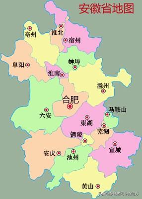 中国行政区划——安徽省宿州市