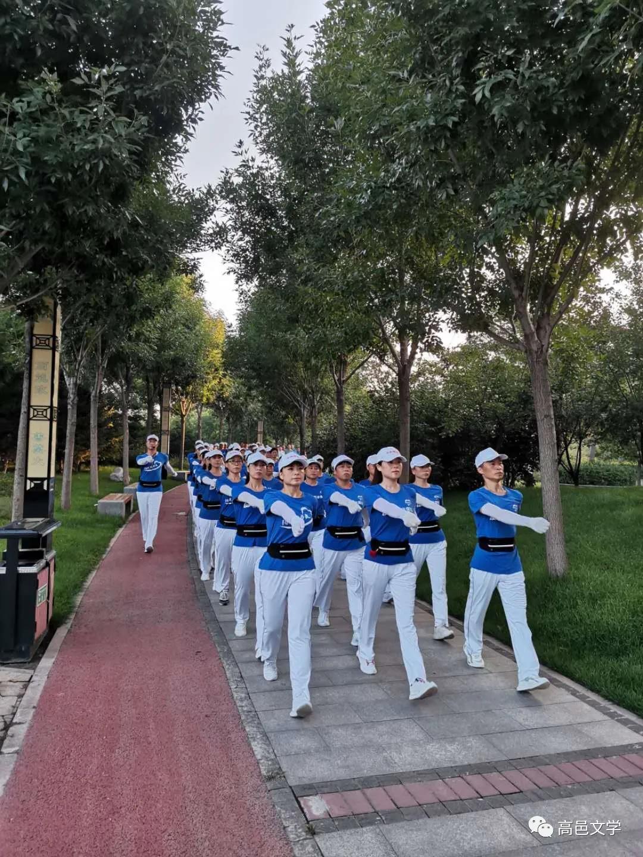 高邑县作家协会发来贺电——热烈庆祝阳光健步队成立一周年